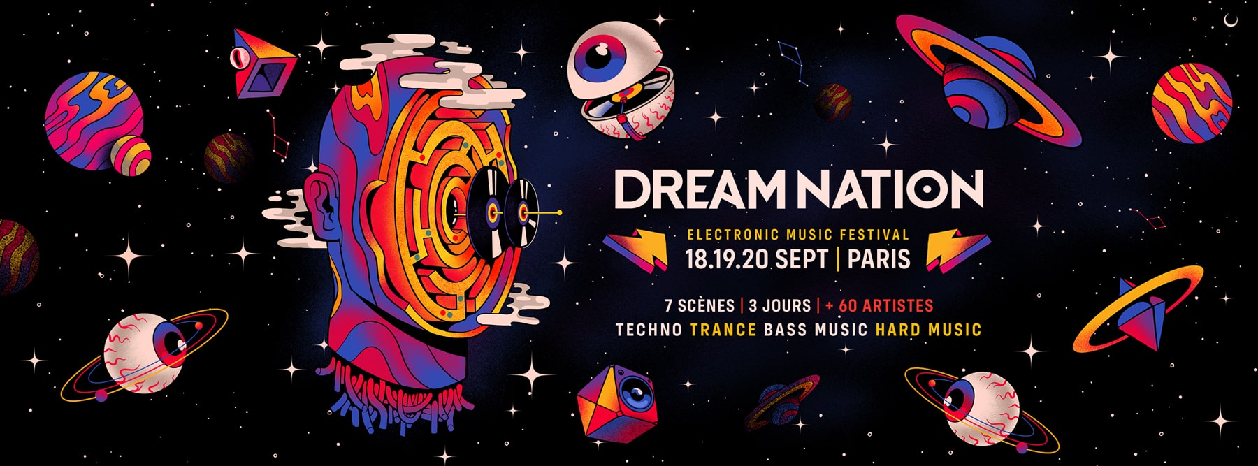 Dream Nation festival programmation